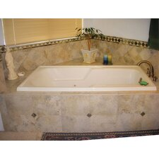 Designer Isabella 72 x 36 Air Tub by Hydro Systems