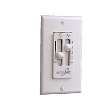 Speed and Dimmer Control Wall Remote System with 3-Wire Installation