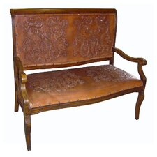 Colonial Imperial Hardwood Bench by New World Trading