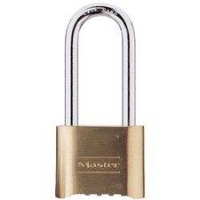 Resettable Combination Long Shank Padlock
