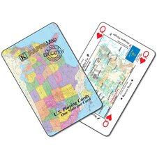 U.S. Map Playing Cards