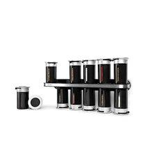Zero Gravity 12 Jar Spice Jar & Rack Set
