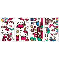 32 Piece World of Hello Kitty WallDecal