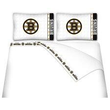 NHL Boston Bruins Sheet Set