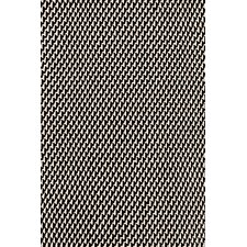 Two Tone Rope Hand Woven Black Indoor/Outdoor Area Rug