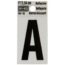 Reflective Letter Sign (Set of 10)