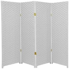 84 x 64 4 Panel Room Divider by Oriental Furniture