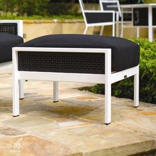 Parkview Woven Ottoman with Cushion