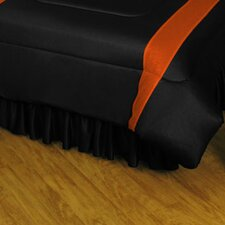 NHL Philadelphia Flyers Polyester Jersey Bed Skirt