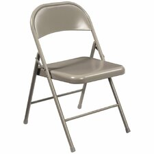 Commercialine Steel Folding Chair (Set of 4)