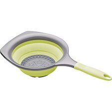 Colourworks Collapsible Strainer in Green