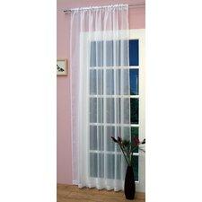 Crystal Single Curtain Panel
