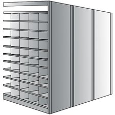 87 H 11 Shelf Shelving Unit Add-on by Hallowell