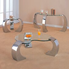 Clayton 3 Piece Coffee Table Set