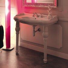 Kerasan Retro 39 Single Console Bathroom Vanity Set by WS Bath Collections