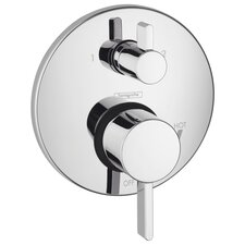 HG S Pressure Balance Diverter Faucet Trim with Lever Handle