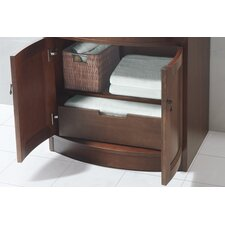Marcello 24 Bathroom Vanity Cabinet Base in Colonial Cherry by Ronbow