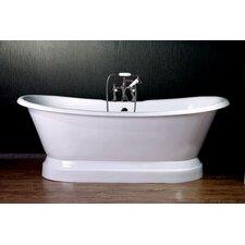 72 x 30 Dual Slipper  Bathtub by Cambridge Plumbing