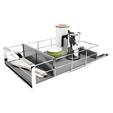 """14"""" Pull Out Cabinet Organizer, Heavy Gauge Steel"""