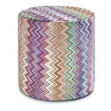 Jarris Cylindrical Pouf Ottoman