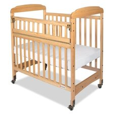 Serenity Safereach Hinged Clearview Compact Convertible Crib with Matrress