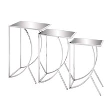 3 Piece Nesting Table Set by Woodland Imports