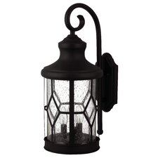 Atlanta 3-Light Outdoor Wall Lantern