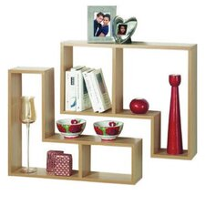 2 Piece Wall Shelf Set