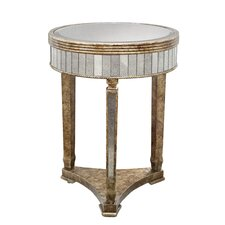 Mirror Accent End Table by Coast to Coast Imports LLC