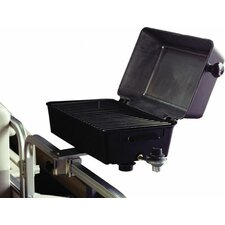 Barbecue Grill with Rail Mount