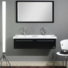 "Fly 49"" Double Bathroom Vanity Set with Mirror"