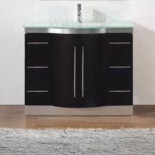 Dinara 42 Single Bathroom Vanity Set with Mirror by Bauhaus Bath