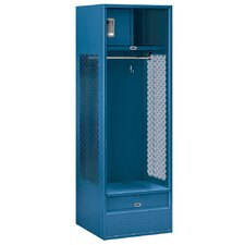 2 Tier 1 Wide Gym Locker