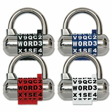 Set-Your-Own Password Plus Combination Padlock