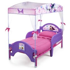 disney minnie mouse bow tique convertible toddler bed