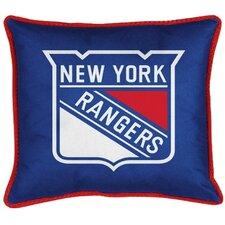NHL New York Rangers Throw Pillow