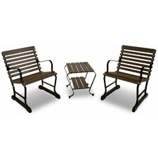 Vintage 3 Piece Seating Group