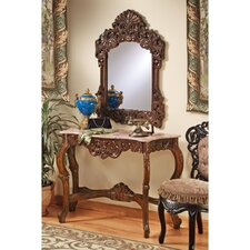 The Dordogne Console Table and Mirror Set by Design Toscano