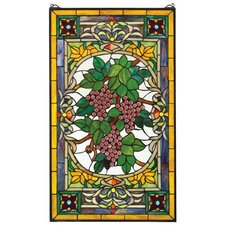 Fruit of the Vine Stained Glass Window