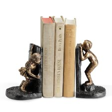 Girl Boy Hide and Seek Book Ends (Set of 2)