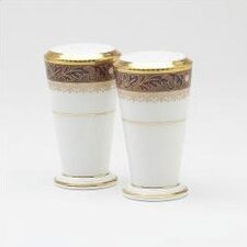 "Xavier Gold 3 1/2"" Salt & Pepper Shaker Set"