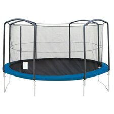 14' Trampoline Net Using 4 Arches