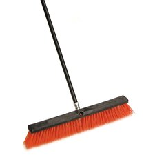 "24"" Stiff Outdoor Push Broom"