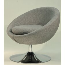 Overman Disc Base Astro Barrel Chair by Fox Hill Trading