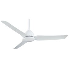 "54"" Java 3-Blade Ceiling Fan with Remote"