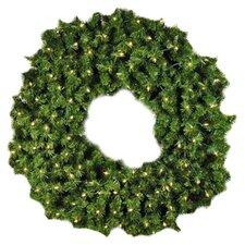 Pre-Lit Incandescent Sequoia Wreath