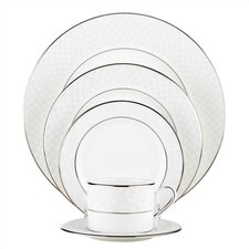 Venetian Lace Bone China 5 Piece Place Setting, Service for 1