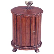 Plantation Cherry Drum End Table by Butler