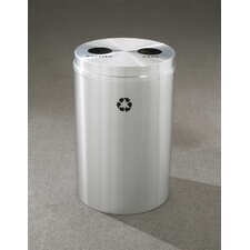 RecyclePro Dual Stream 33 Gallon Recycling Bin