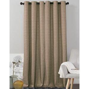 Jaylah Solid Blackout Grommet Curtain Panels (Set Of 2)